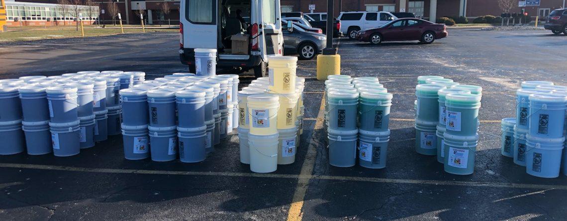 uScore Fundraising Laundry Detergent Fundraiser