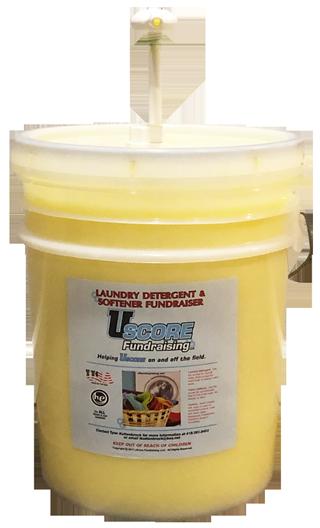 uScore Fundraising Laundry Detergent and Softener