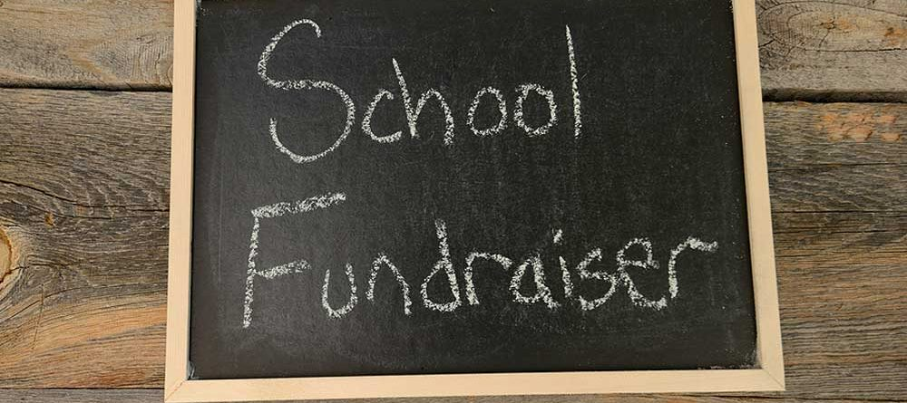 uScore Fundraising Sign